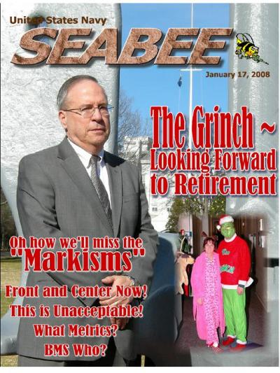 Mock SEABEE mag cover
