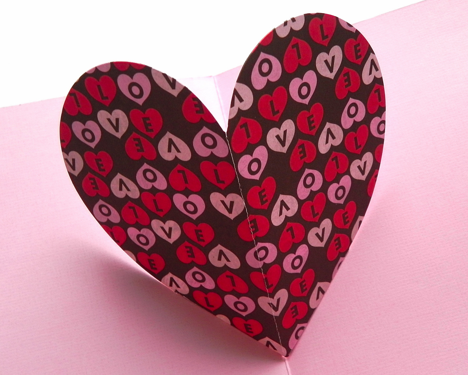 Popup Heart Card Class – Valentines Day Heart Card