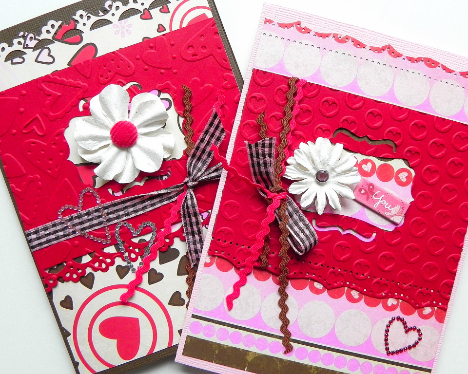 Popup Heart Card Class – Valentines Day Card Examples