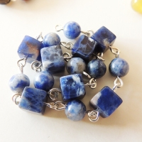 Sodalite and Dumortierite
