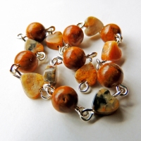Yellow Jasper and Crazy Lace Agate